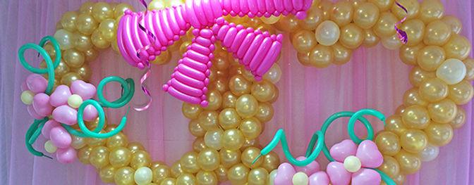 Оформление шарами в Воскресенске кафе ресторан Охотник