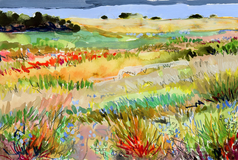 Prairie Sketch 11