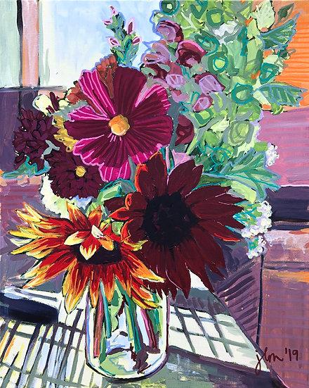"Original Canvas Painting - Beginnings 20x16"""