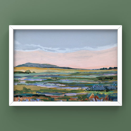 Original Painting on Canvas Board - #45.20 Imagined Landscape