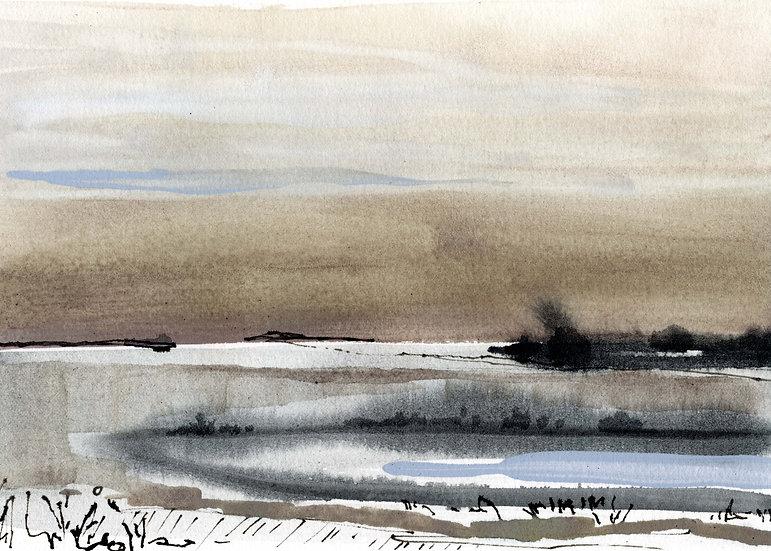 Fine Art Print - Neutral Untitled Landscape