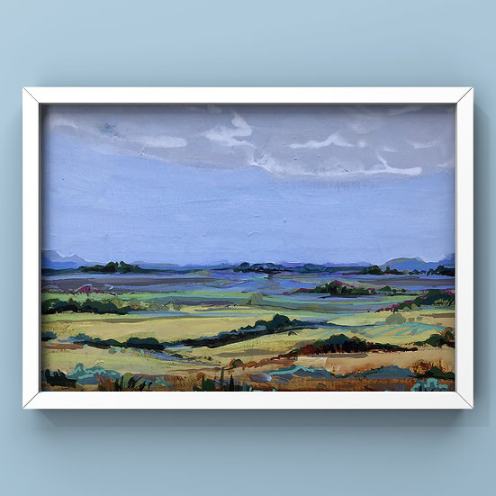Original Painting on Canvas Board - #42.20 Imagined Landscape