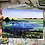 "Thumbnail: ""Prairie Summer"" Landscape Greeting Card Set of 4"