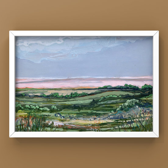 Original Painting on Canvas Board - #46.20 Imagined Landscape