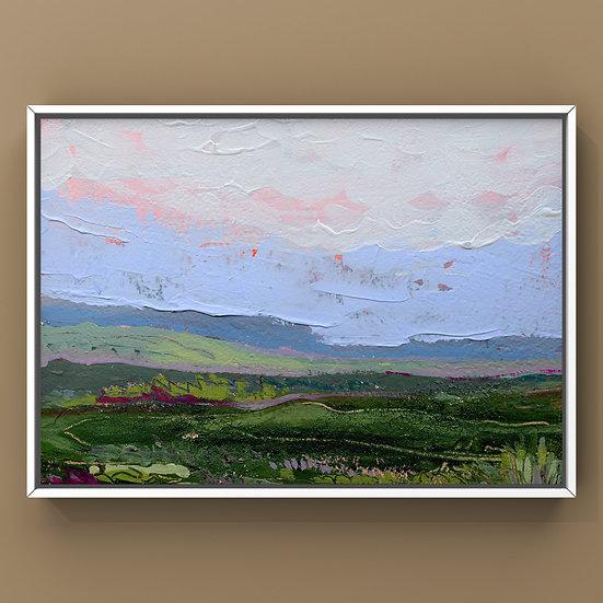 Original Painting on Panel - #37.20 Imagined Landscape
