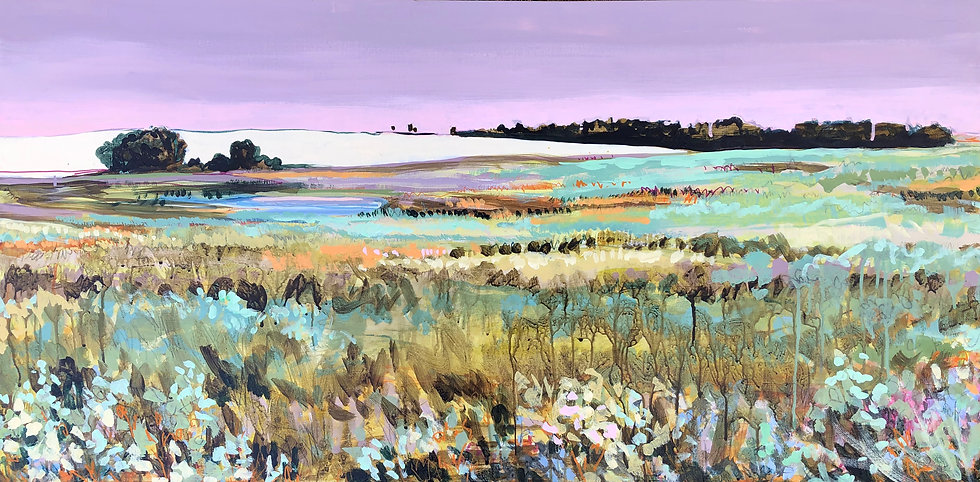 """""""Looking South"""" 24x48"""""""
