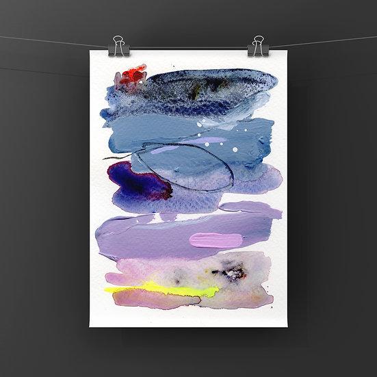 """Fine Art Print - """"Grape Hubba Bubba"""""""