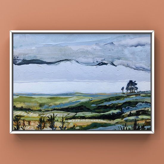 Original Painting on Panel - #33.20 Imagined Landscape
