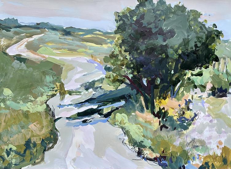 "Westward:  Glenbow Ranch, 18x24"" (paper)"