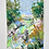 "Thumbnail: Untitled Mixed Media Landscape Sketch, 10x7"""