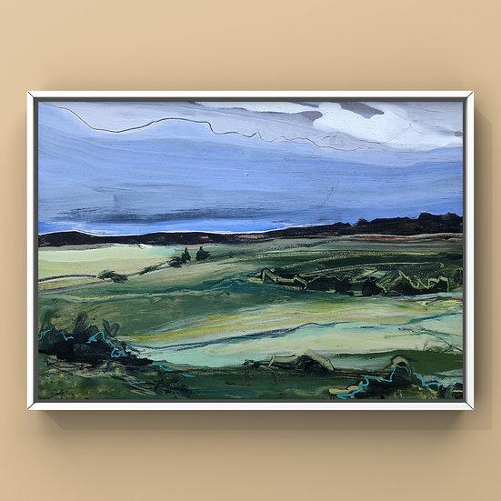 Original Painting on Panel - 32.20 Imagined Landscape