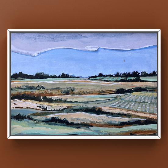 Original Painting on Panel - #34.20 Imagined Landscape