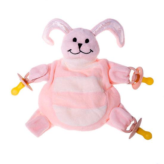 Pink Bunny - The Sleepytot Dummy Holder Comforter
