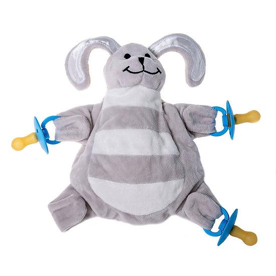 Grey Bunny - The Sleepytot Dummy Holder Comforter