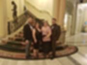 Los Asesores de Imagen Luis Palacios, Hildemaro Nieto, Sara Budia, y Loly Mergan