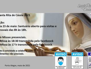 FESTA DE SANTA RITA 2021