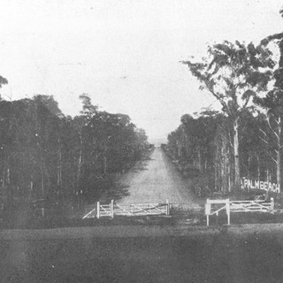 Palm Beach Avenue in 1928