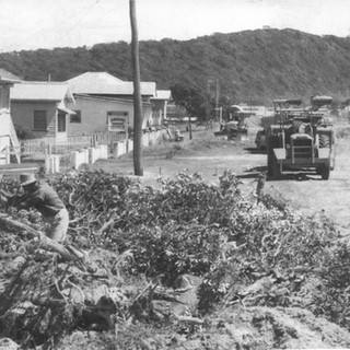 Widening of the Gold Coast Highway in Palm Beach