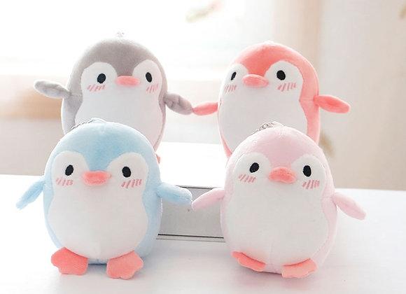Super Soft Penguin Plush Keyring