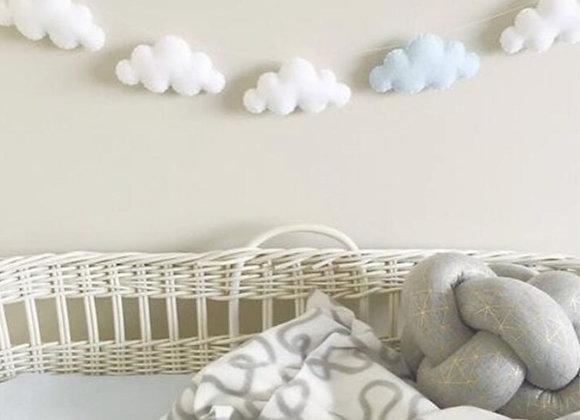 Felt Cloud Garland Hanging Ornaments