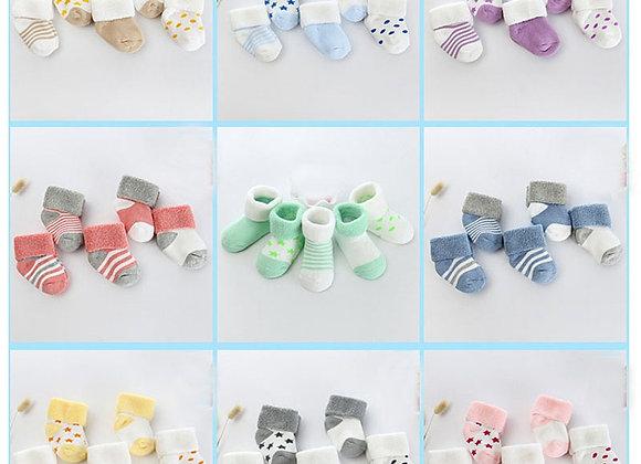 Baby Cotton Mismatched Socks