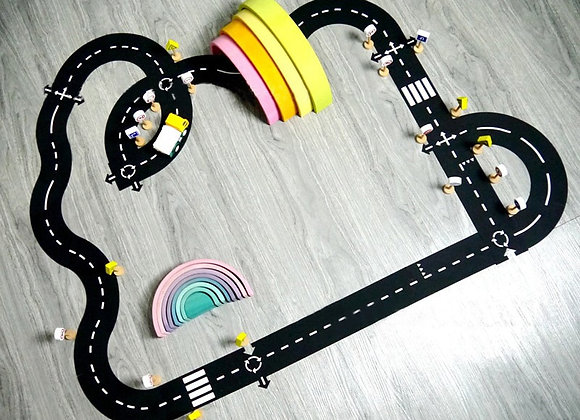 Road Puzzle Play Track