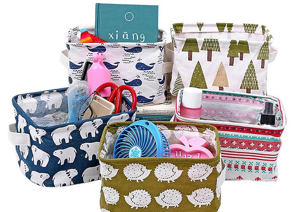 Linen Toy Box