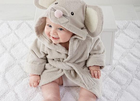 Animal Baby Bath Hooded Robe
