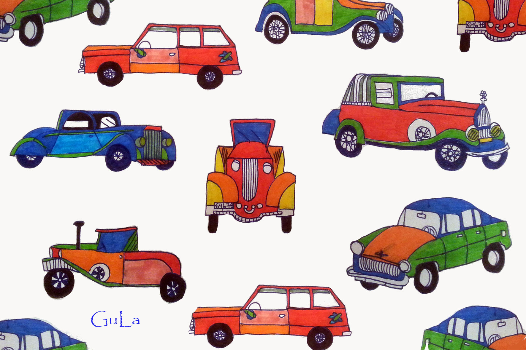 gula designs cars :)