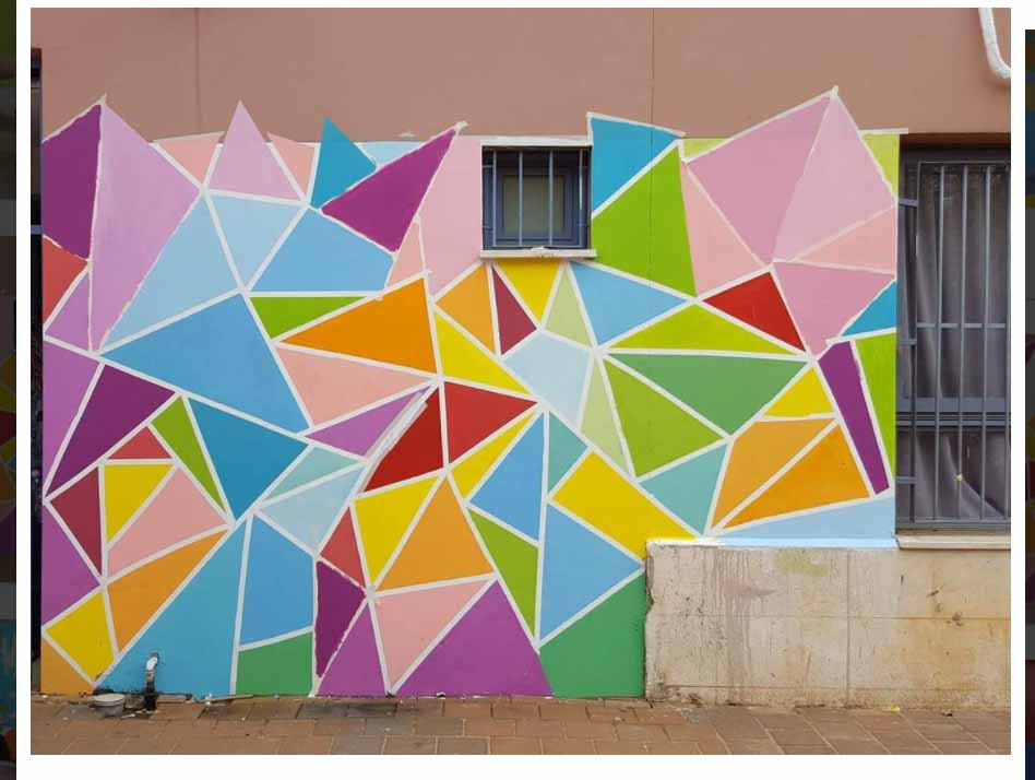 ציורי קיר ופרוייטקים אמנותיים בקהילה