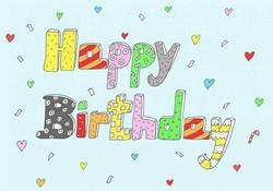 happy birthday-  gula design