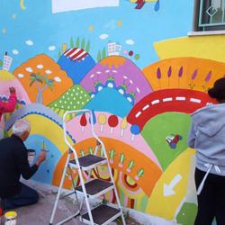 gula on walls