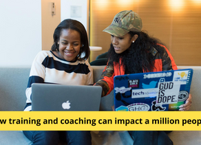 How training and coaching can impact a million people ?