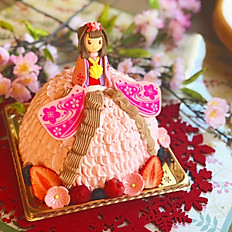 雛人形ケーキ