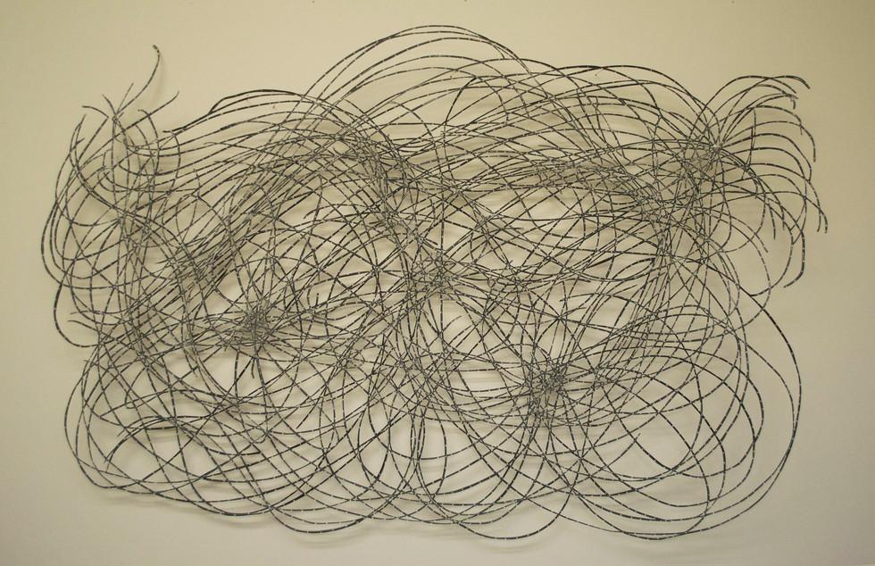 "Universalis Cut Paper Drawing 21 1/2"" x 32"""