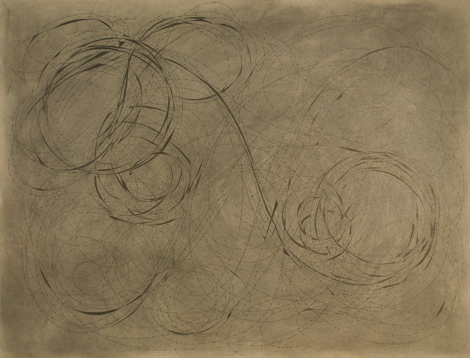 """Reciprocity Charcoal and Pen and Ink on Paper 19"""" x 25"""""""