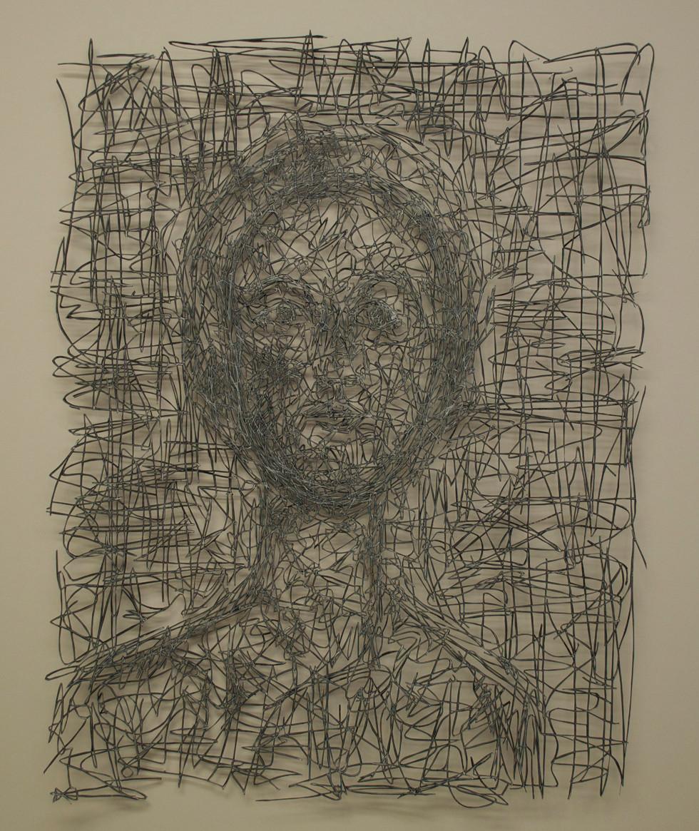 """Aibrean Cut Paper Drawing 26"""" x 20"""""""