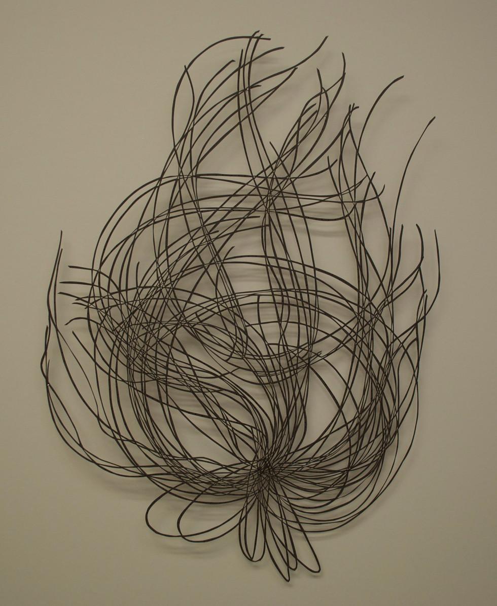 "My Road Cut Paper Drawing 25"" x 20"""