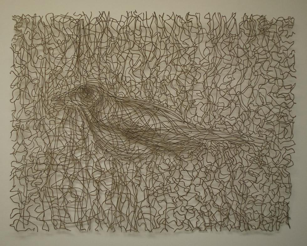 """Flight Cut Paper Drawing 19 1/2"""" x 25 1/2"""""""