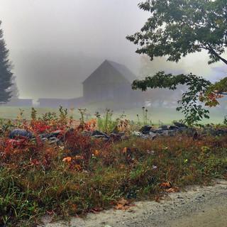 """Barn In The Mist"""