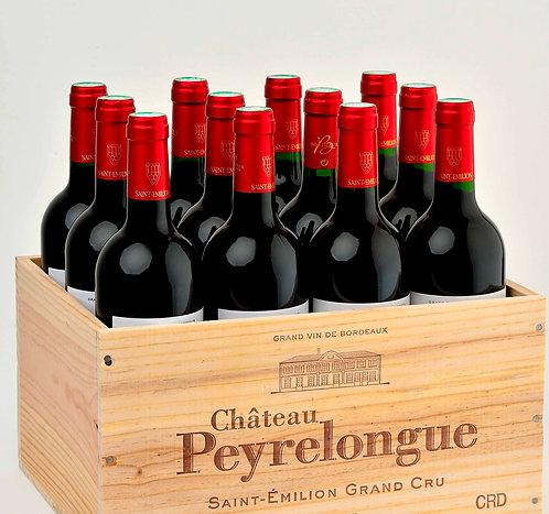 Lot de 12 bouteilles de Château Peyrelongue 2018
