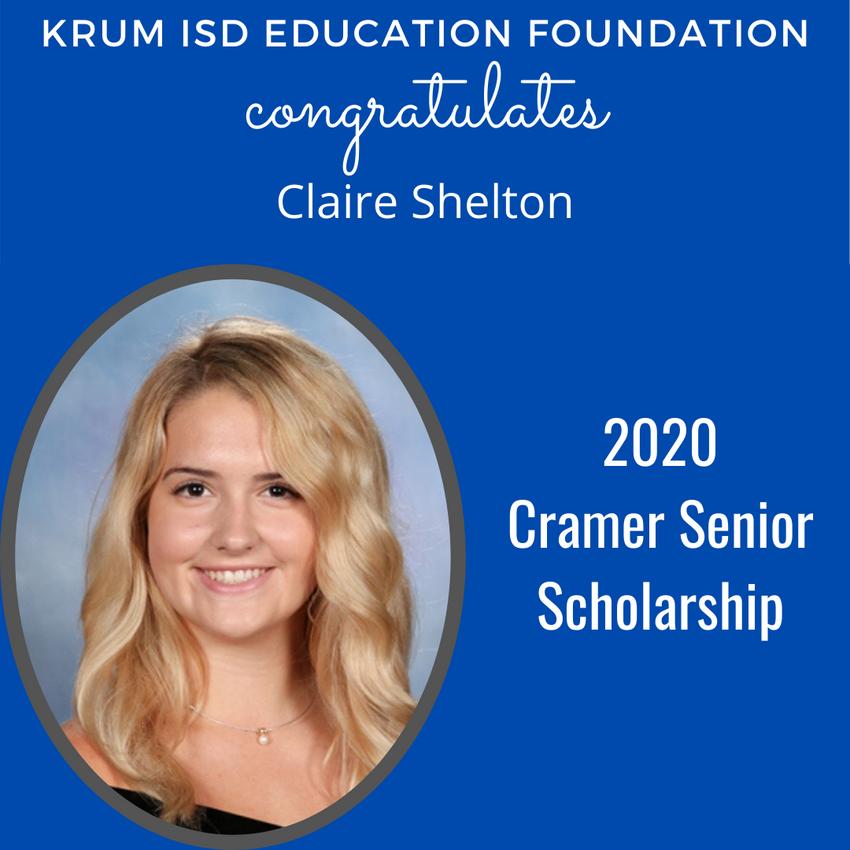 Scholarship_Cramer