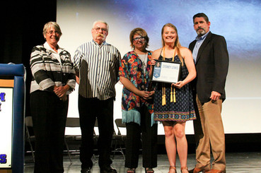 Sydney Lewis Named First Recipient of Janeda Peploe Scholarship