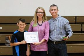 Grant Freels Receives KEF Student Enrichment Grant
