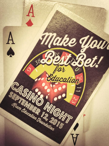 Casino Night Set for Second Saturday in September