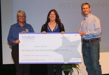 First KEF Teacher Scholarship Awarded