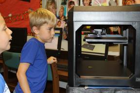 KEF Technology Grant Provides 3D Printer for Dodd