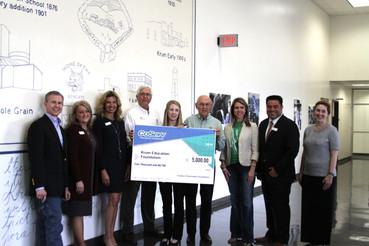 CoServ Donates $5,000 to KEF