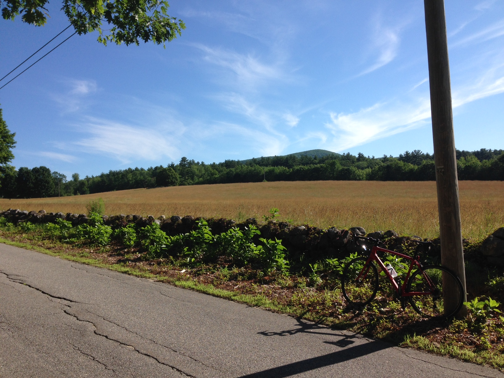 Summer Road Ride Sacopee Valley