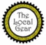 Logo decorative gear with store name